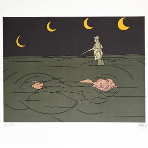 petit clair de lune - Valerio Adami